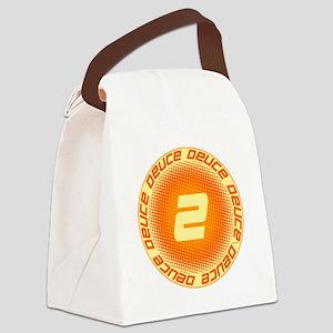 Deuce #2 Canvas Lunch Bag