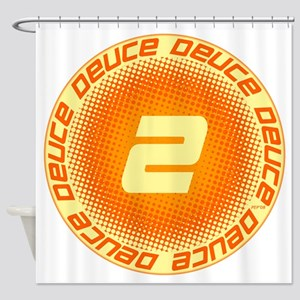 Deuce #2 Shower Curtain