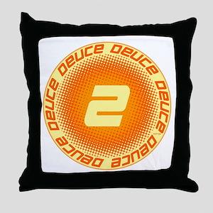 Deuce #2 Throw Pillow