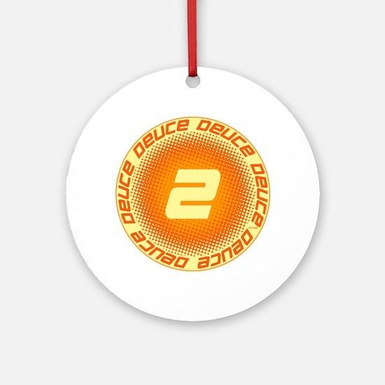 Deuce #2 Ornament (Round)
