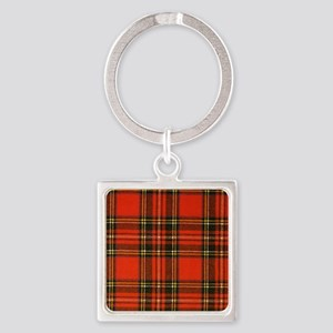 Tartan Pride Square Keychain