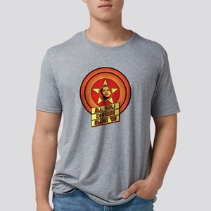 ComradeObama_01 Mens Tri-blend T-Shirt