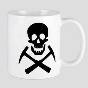 Rockhound Skull Cross Picks Mug