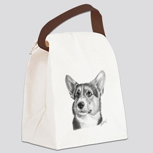 Corgi Canvas Lunch Bag