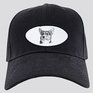 Corgi Black Cap