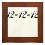 121212 Framed Tile