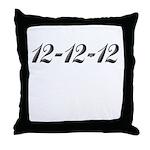 121212 Throw Pillow