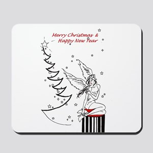 Merry Christmas & Happy New Year Mousepad