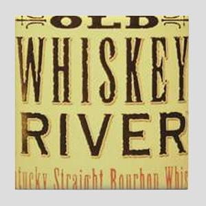 Whiskey River Tile Coaster