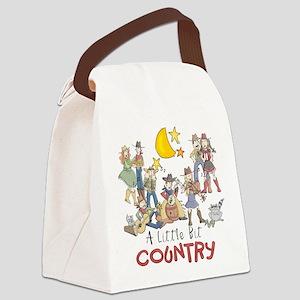 littlebitcountry Canvas Lunch Bag