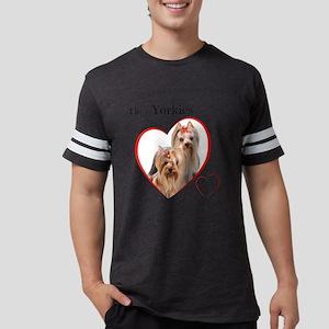 Yorkie Mens Football Shirt