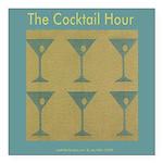 Martini Cocktail Hour Square Car Magnet 3