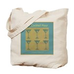 Martini Cocktail Hour Tote Bag