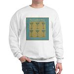 Martini Cocktail Hour Sweatshirt