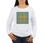 Martini Cocktail Hour Women's Long Sleeve T-Shirt