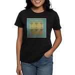 Martini Cocktail Hour Women's Dark T-Shirt