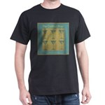 Martini Cocktail Hour Dark T-Shirt
