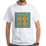 Martini Cocktail Hour White T-Shirt