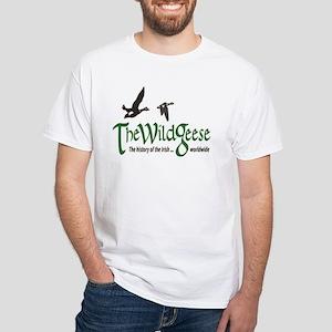 The Wild Geese Logo White T-Shirt