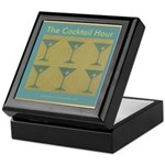 Martini Cocktail Hour Keepsake Box
