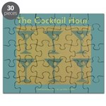 Martini Cocktail Hour Puzzle