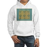 Martini Cocktail Hour Hooded Sweatshirt