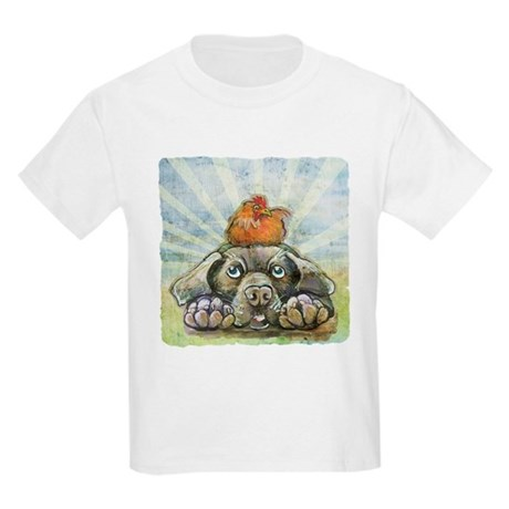 The Chicken and the Dog Kids Light T-Shirt