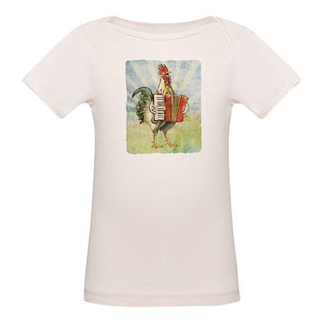 Accordion Chicken Organic Baby T-Shirt