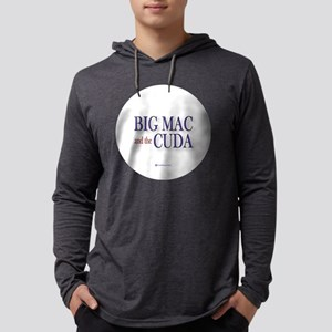 Big Mac  the Cuda 3.5 button Mens Hooded Shirt