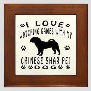 Chinese Sharpie Framed Tile