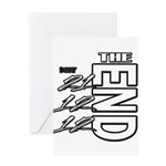 12 12 21 THE END Greeting Card