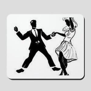 Swing Dancers Mousepad