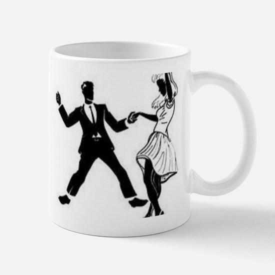Swing Dancers Mug