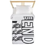 12 12 21 THE END Twin Duvet