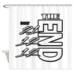12 12 21 THE END Shower Curtain