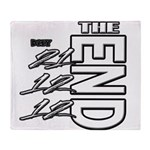 12 12 21 THE END Throw Blanket