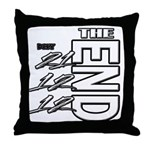 12 12 21 THE END Throw Pillow