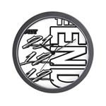 12 12 21 THE END Wall Clock