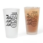 12 12 21 THE END Drinking Glass