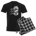 12 12 21 THE END Men's Dark Pajamas