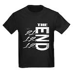 12 12 21 THE END Kids Dark T-Shirt