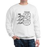12 12 21 THE END Sweatshirt