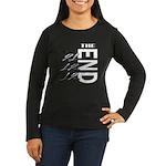 12 12 21 THE END Women's Long Sleeve Dark T-Shirt