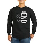 12 12 21 THE END Long Sleeve Dark T-Shirt
