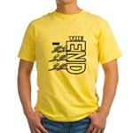 12 12 21 THE END Yellow T-Shirt