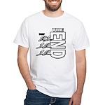 12 12 21 THE END White T-Shirt