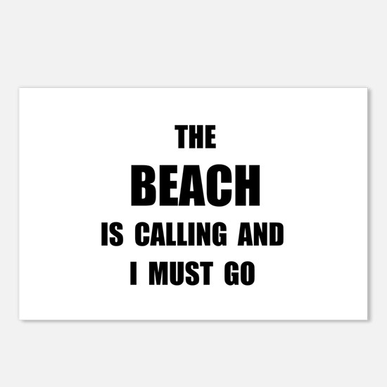 Beach Calling Postcards (Package of 8)