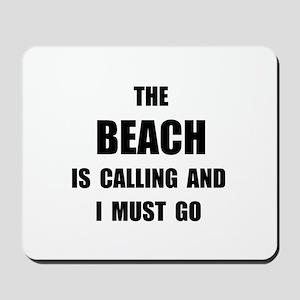 Beach Calling Mousepad