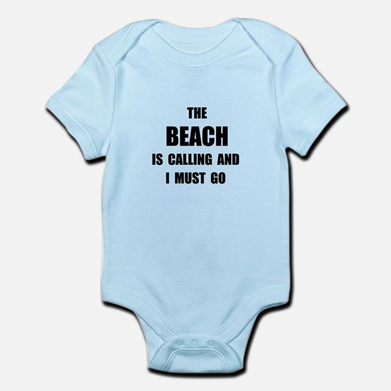 Beach Calling Infant Bodysuit