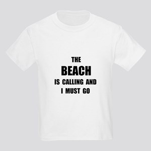Beach Calling Kids Light T-Shirt